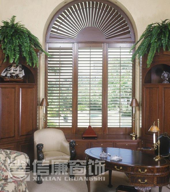 椴木百叶窗、实木百叶门、移门 、折叠门