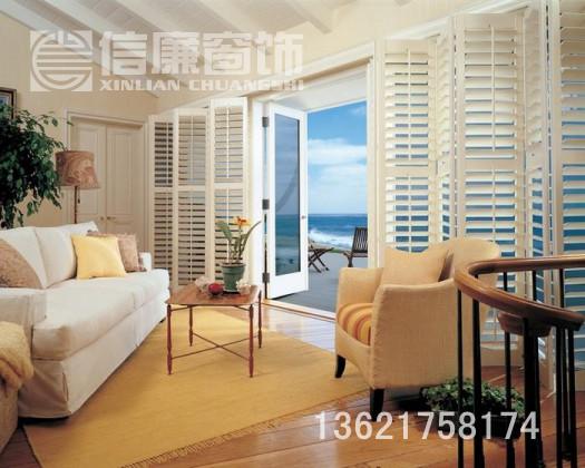 百叶窗、实木百叶窗、木制百叶窗、欧式百叶窗