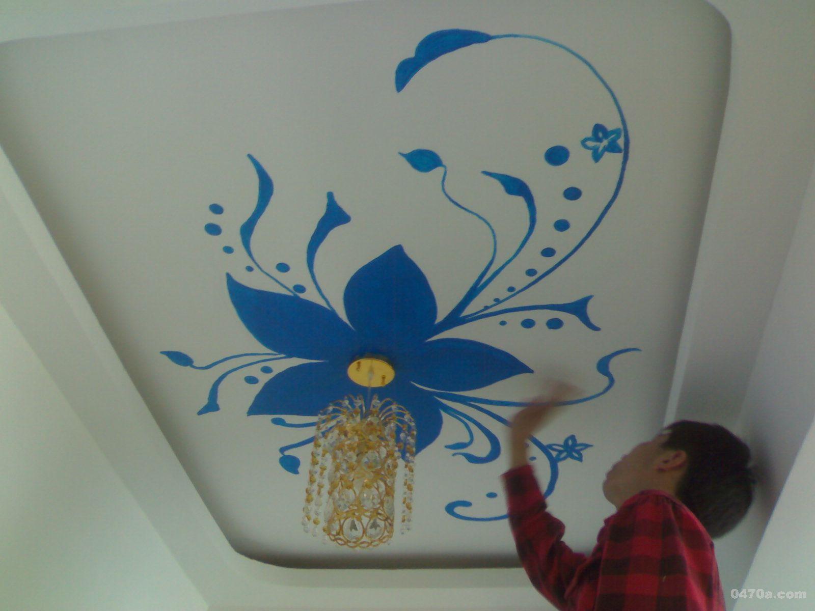 室内墙体手绘为你打造完美生活空间