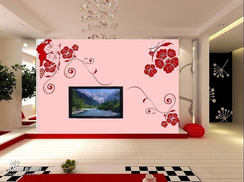 装修墙壁创意手绘