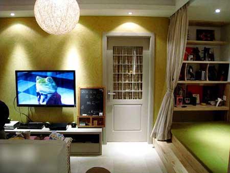 80后装修实用60平一室一厅宜家风格