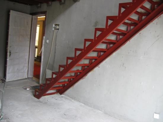 钢结构c型槽楼梯