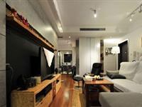 巧妙隔断 两室两厅原木自然风婚房