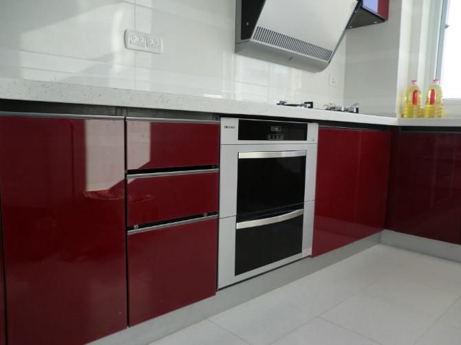 江南一品厨房整体厨柜安装效果