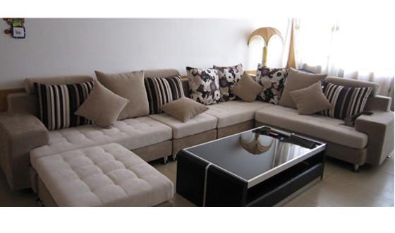 布艺新款沙发厂库存!现低价出售团购!