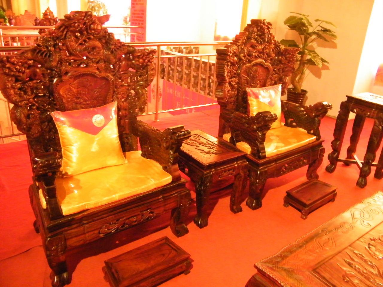 红木沙发系列图片