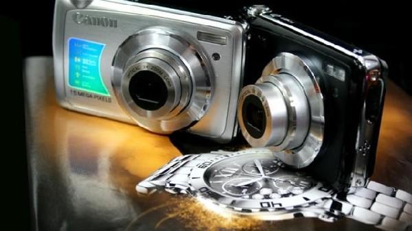 全新1500万佳能数码相机+8G内存卡+高清摄像