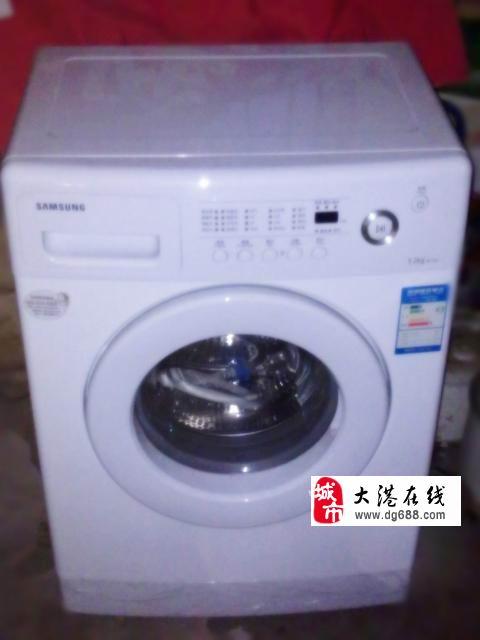 转让三星滚筒洗衣机