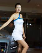 SUV美女 超人气模特
