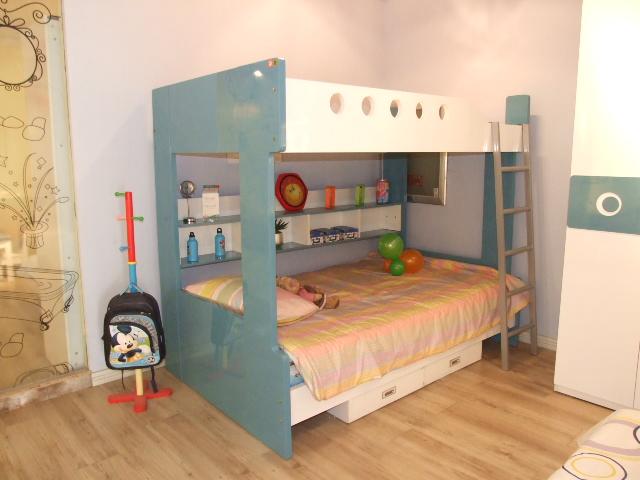 卧室双层床设计