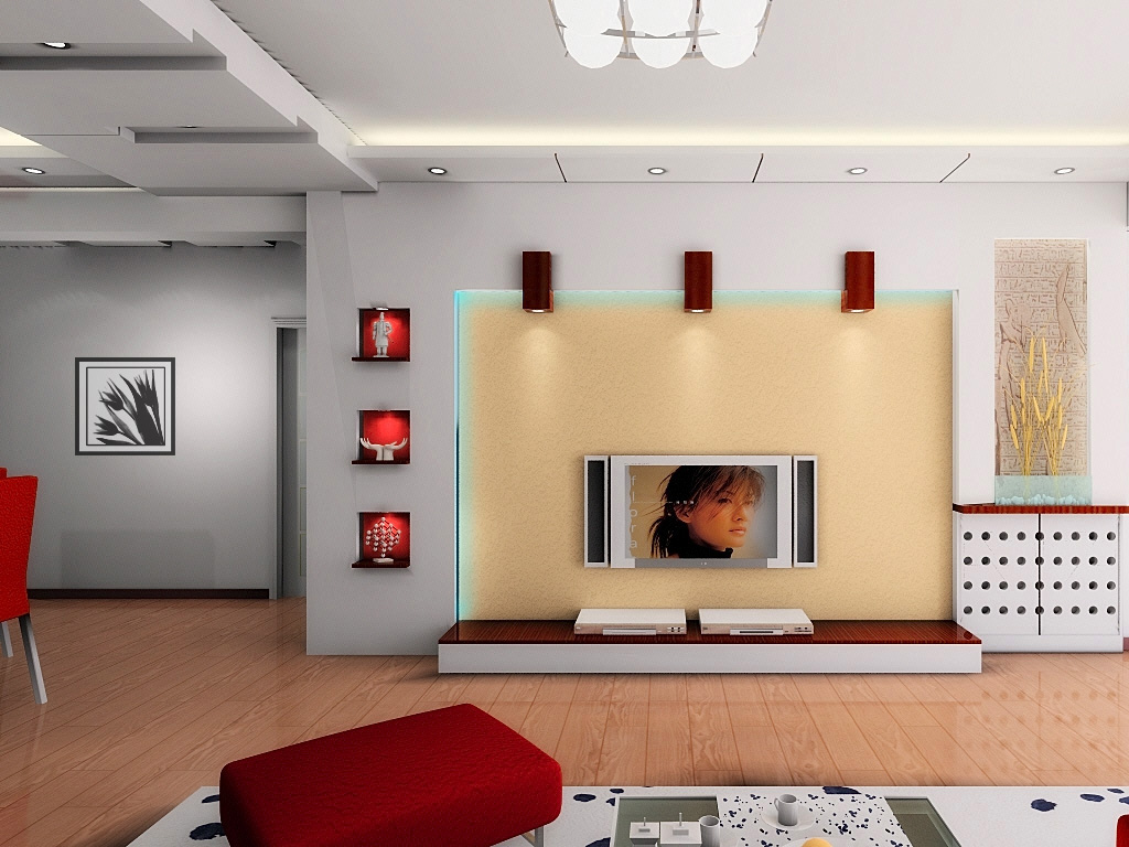 影视墙装修效果图