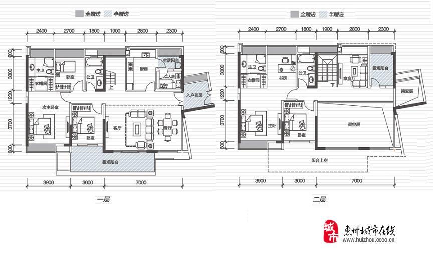 [东江新城]中信水岸城楼盘规划图 户型图 实景图 样板