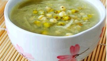 藕丝薏仁绿豆汤