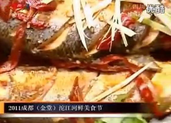 2011成都(金堂)河�r美食�
