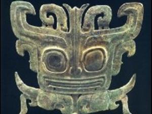 三星堆・青铜兽面具