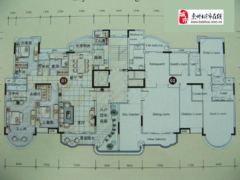 [江北]合生帝景湾楼盘相册_惠州在线