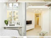 38平米带有阁楼、阳台的小公寓