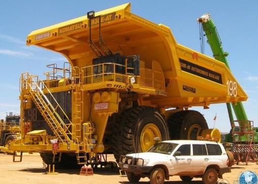 巨型矿车集锦 全地形路上巨无霸