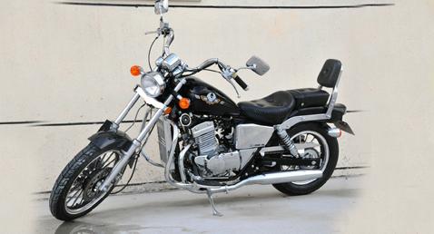 出售大地鹰王太子摩托车150e 5 9成新高清图片