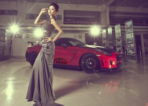 古典美女情迷GT-R