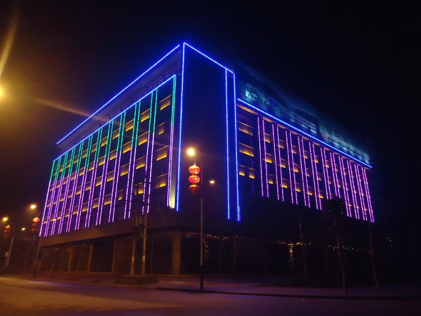 南溪凯瑞特大厦亮化照片