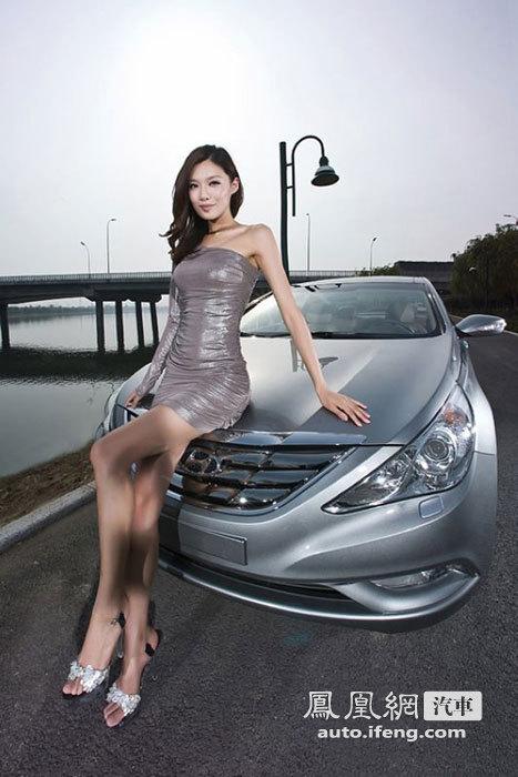 冷艳美女高贵性感 优雅演绎纤细身材