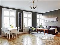 5万装78平米温馨北欧三口之家