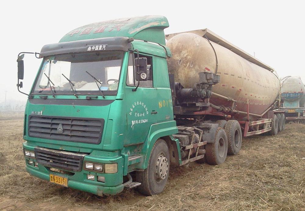 出售散装水泥半挂罐车