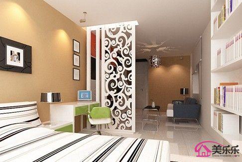 单身公寓装修效果图_家居街