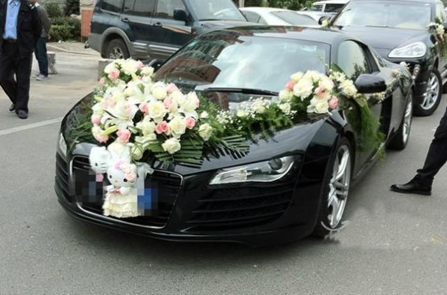 出租奧迪R8婚車