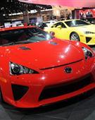 雷克萨斯LFA 亮相2012芝加哥车展