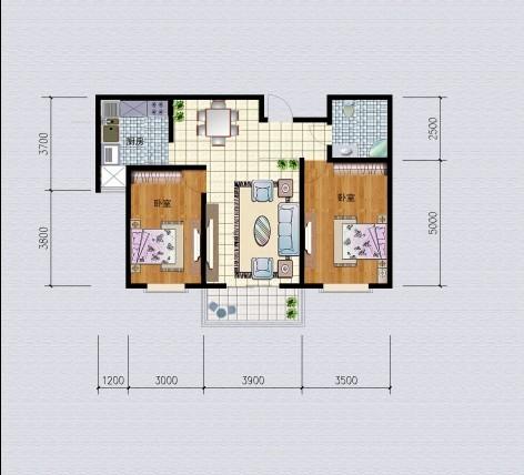 4���b�粜投�室��d一�l�s99.6平方米
