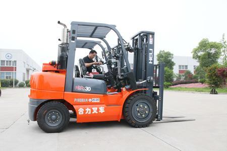 選新合肥合力叉車三噸490發動機手動合肥叉車價格