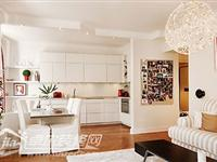 小户型装修 57平温馨明朗小公寓