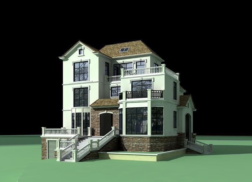 承建设计,效区或乡村别墅,楼房
