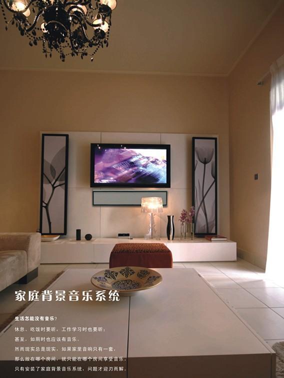 家居音乐电视背景墙,既是音响,又是画!