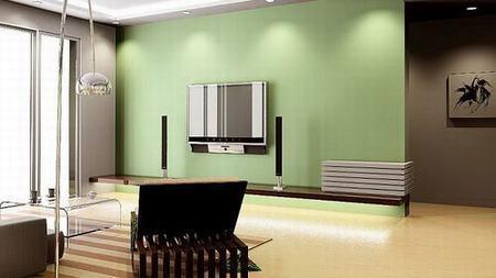 2012最新电视背景墙 这样装最适合春天