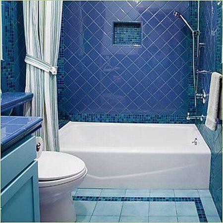 经典与现代风格混搭的卫浴间装修