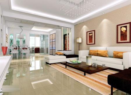 一次看个够 史上最流行的客厅装修美图