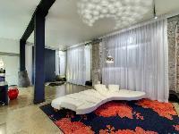装饰高雅的现代Loft住宅设计