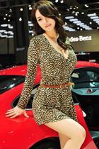 汽车模特精美艳照