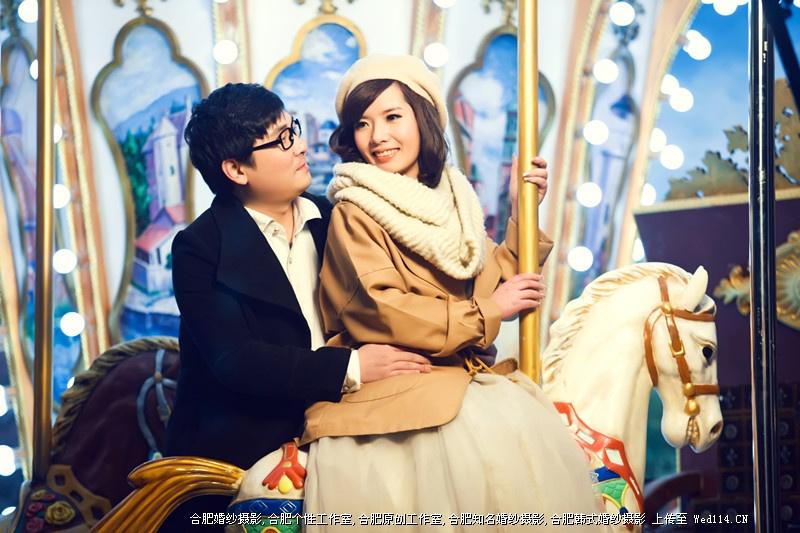 夏晶夫妇情侣写真