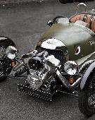 复古摩根三轮跑车 寻找最纯粹的驾驶乐趣
