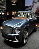 慕尚推加长版 宾利量产SUV或2015年发布