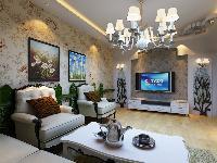4.4万半包120平方欧式风格 - 田园风格