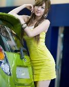 韩国车模 黄美姬