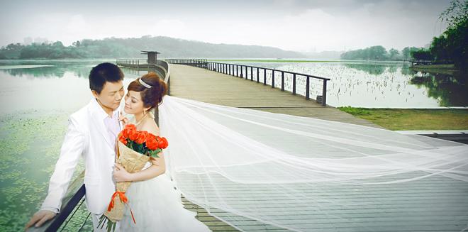 淡淡的甜蜜-婚纱照