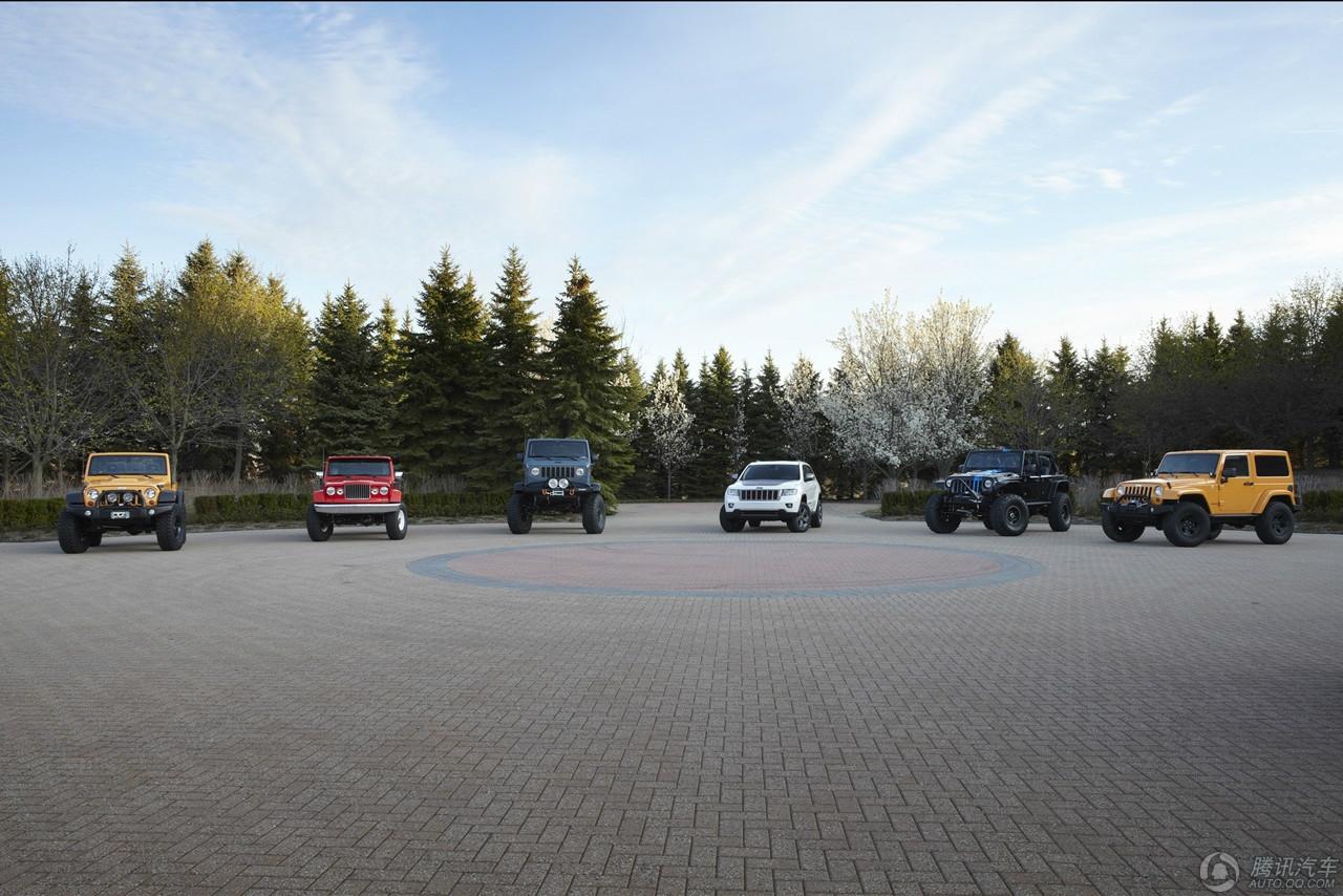 大图!!!吉普发布六款概念车 挑战越野极限