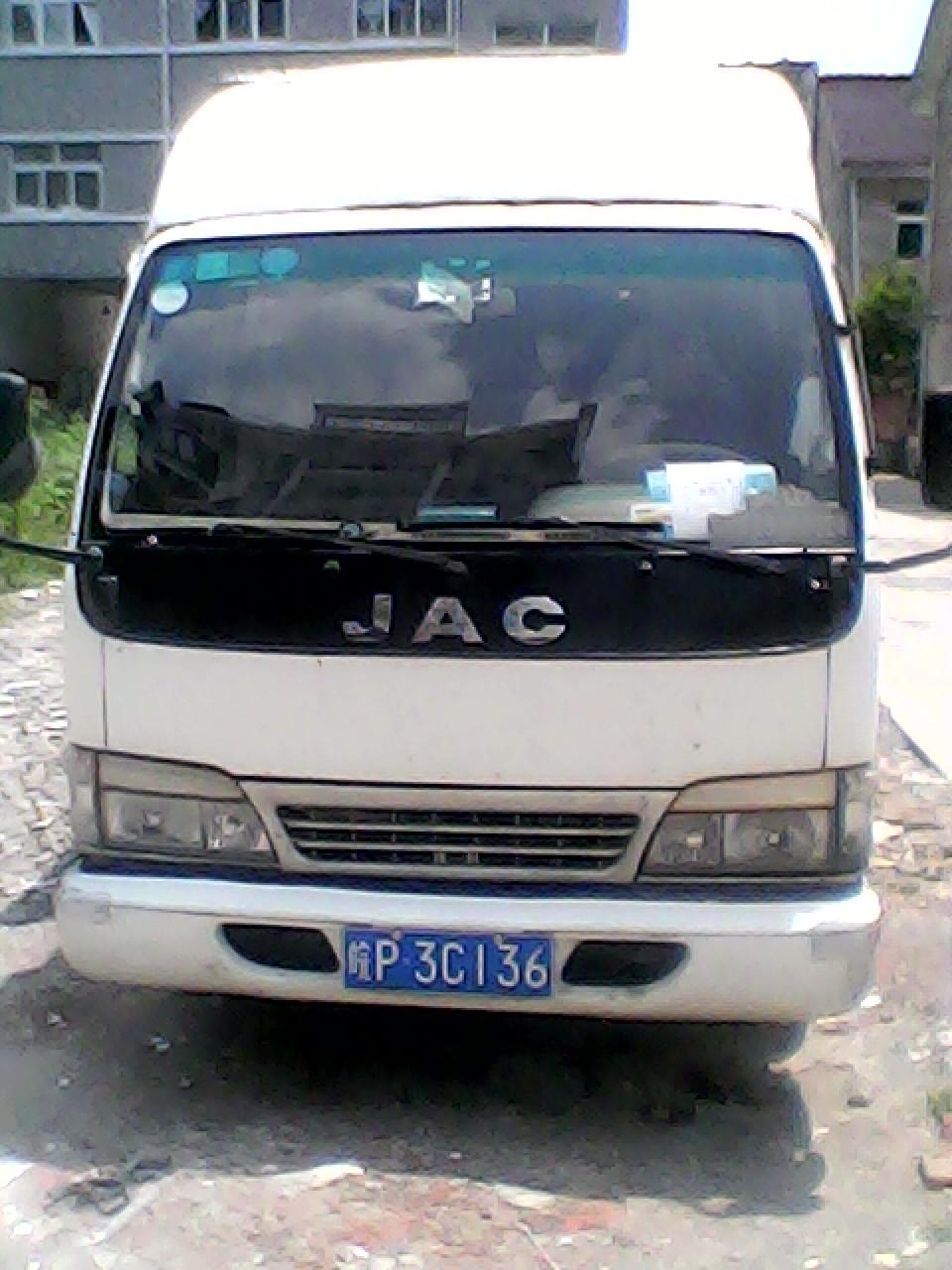 江淮厢式货车出售高清图片