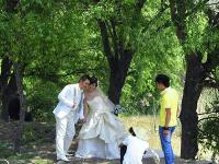 甘肃永靖太极岛婚纱照外拍基地